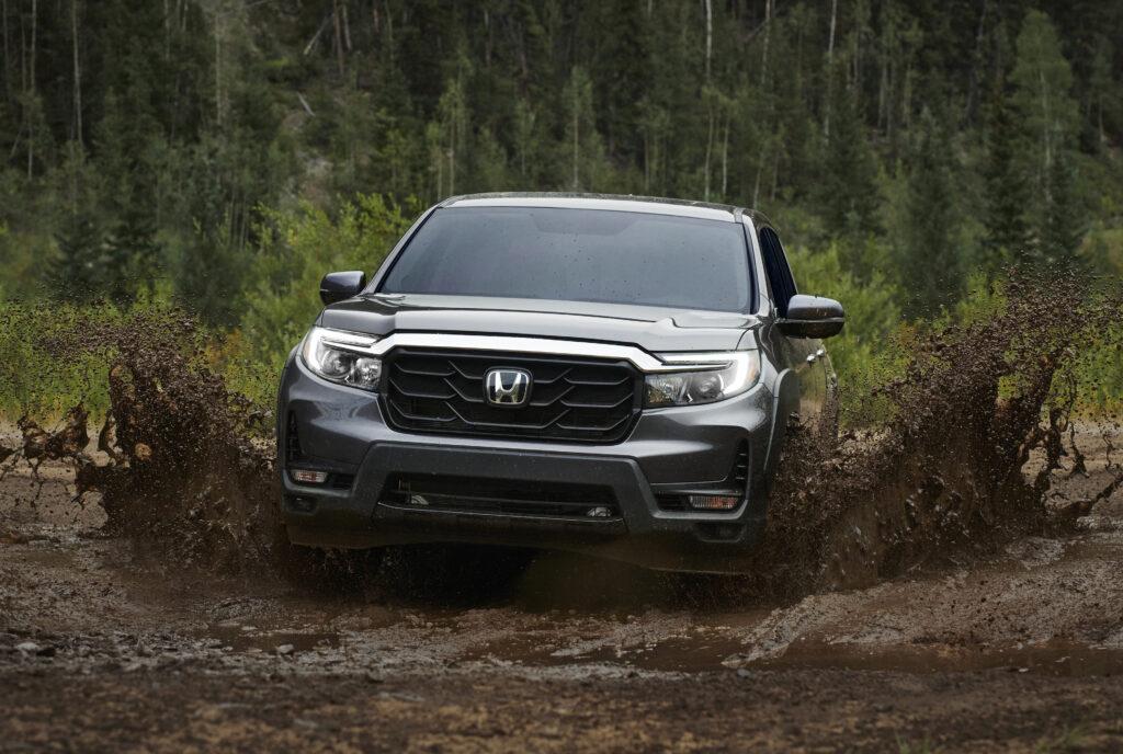 Honda mud busting