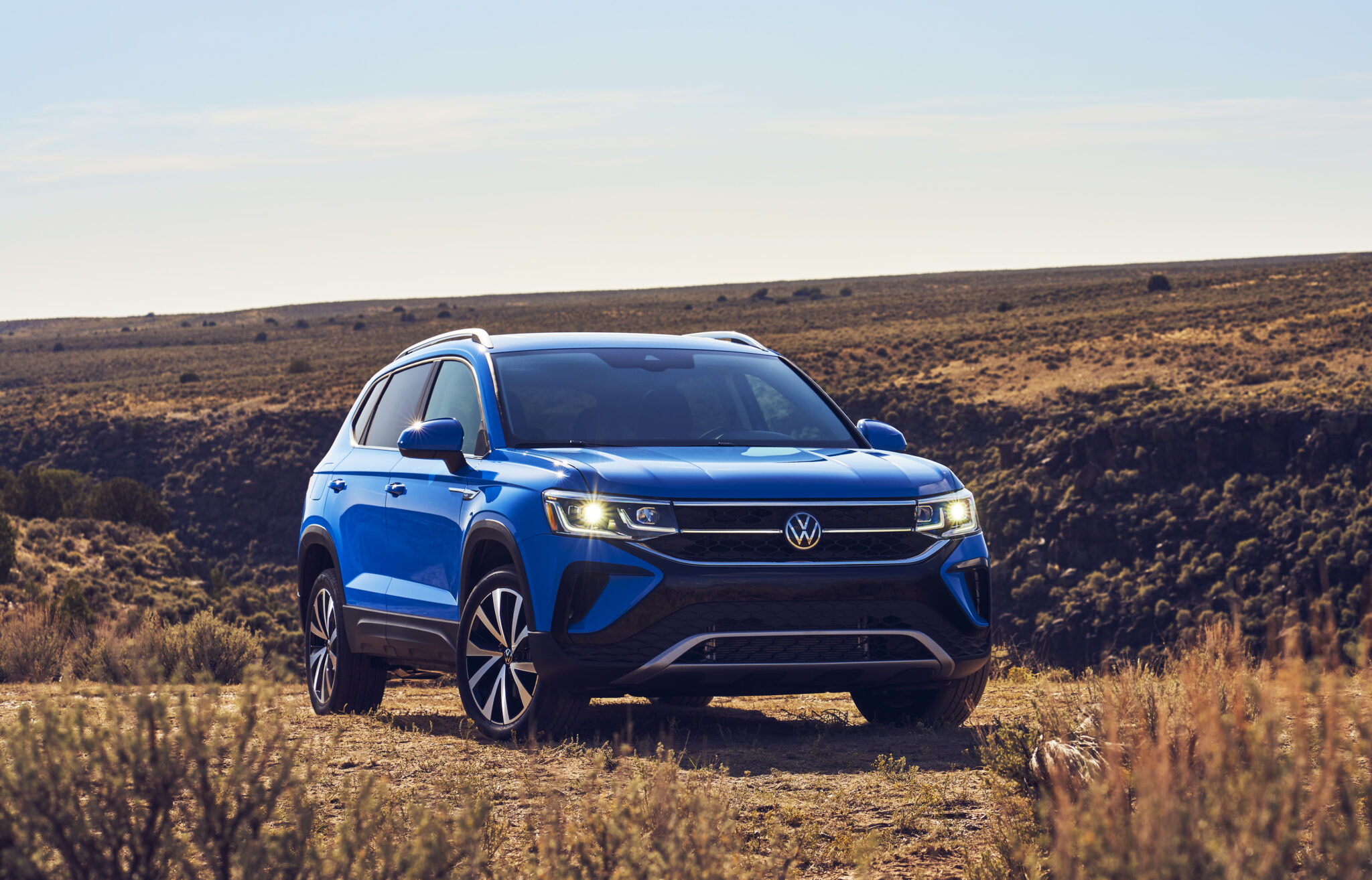 NEW VOLKSWAGEN TAOS ROUNDS OUT VW COMPACT SUV OFFERINGS