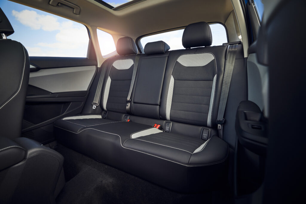 New Volkwagen SUV Rear seat
