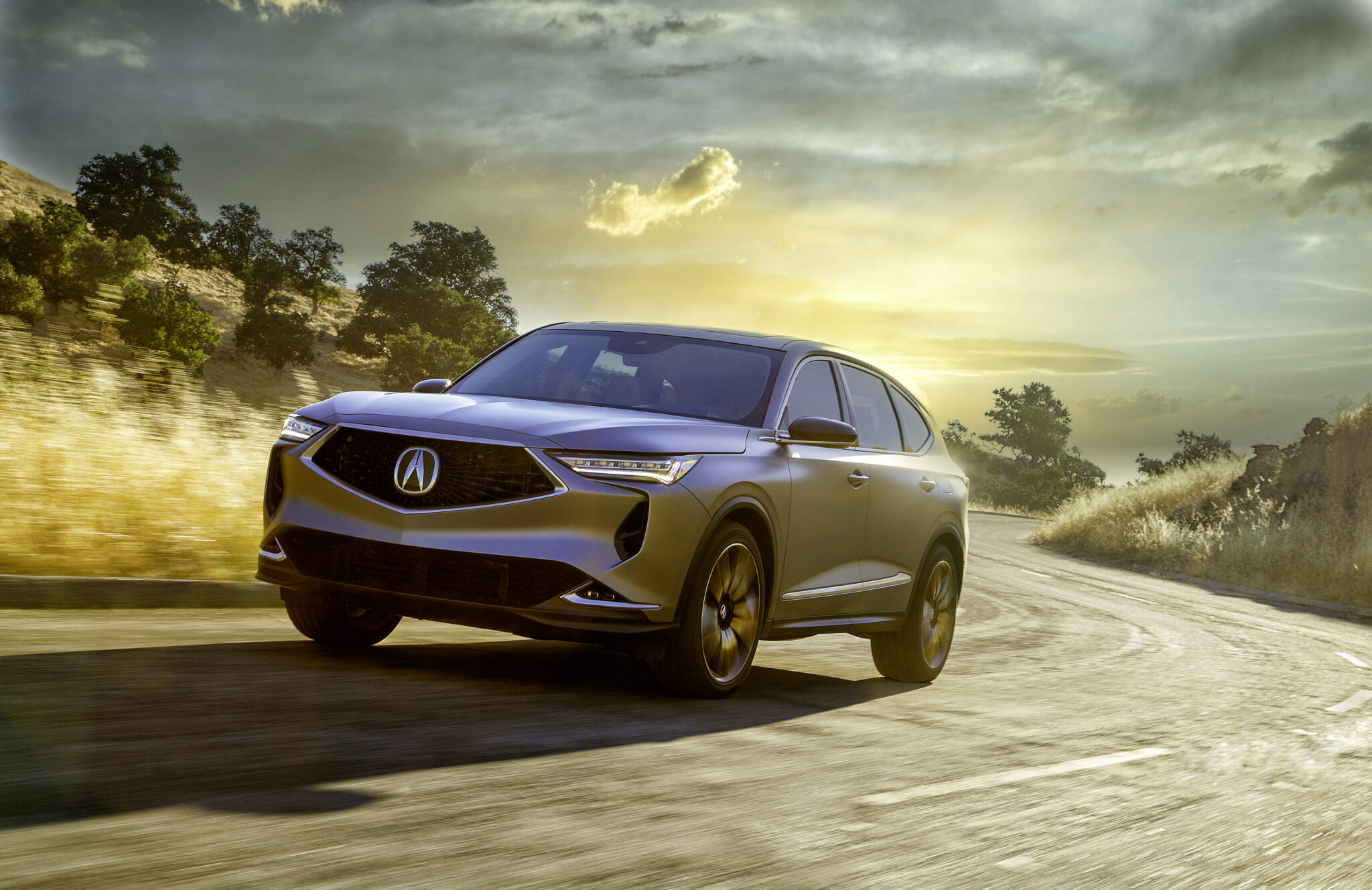 NEW ACURA MDX PROTOTYPE PREVUES PERFORMANCE AND PREMIUM FOCUS