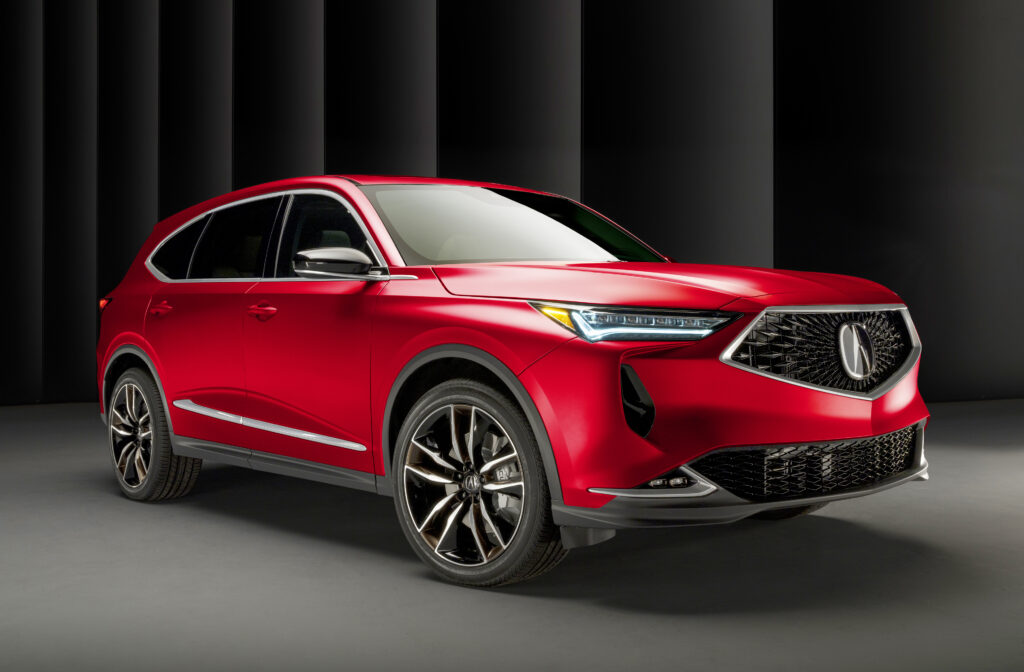 Acura MDX red