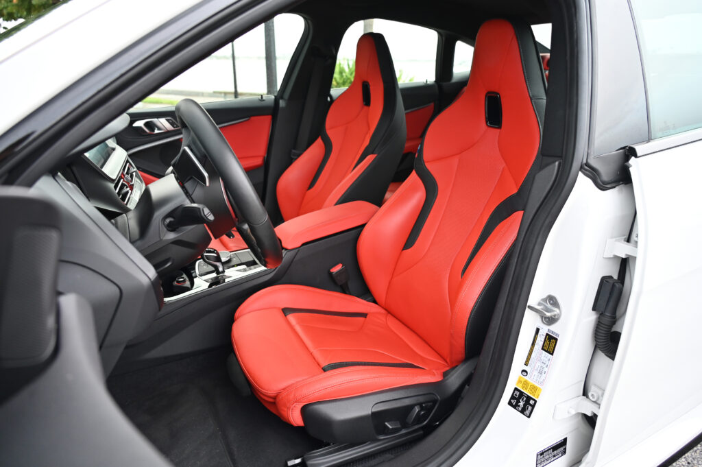 M235i front seats