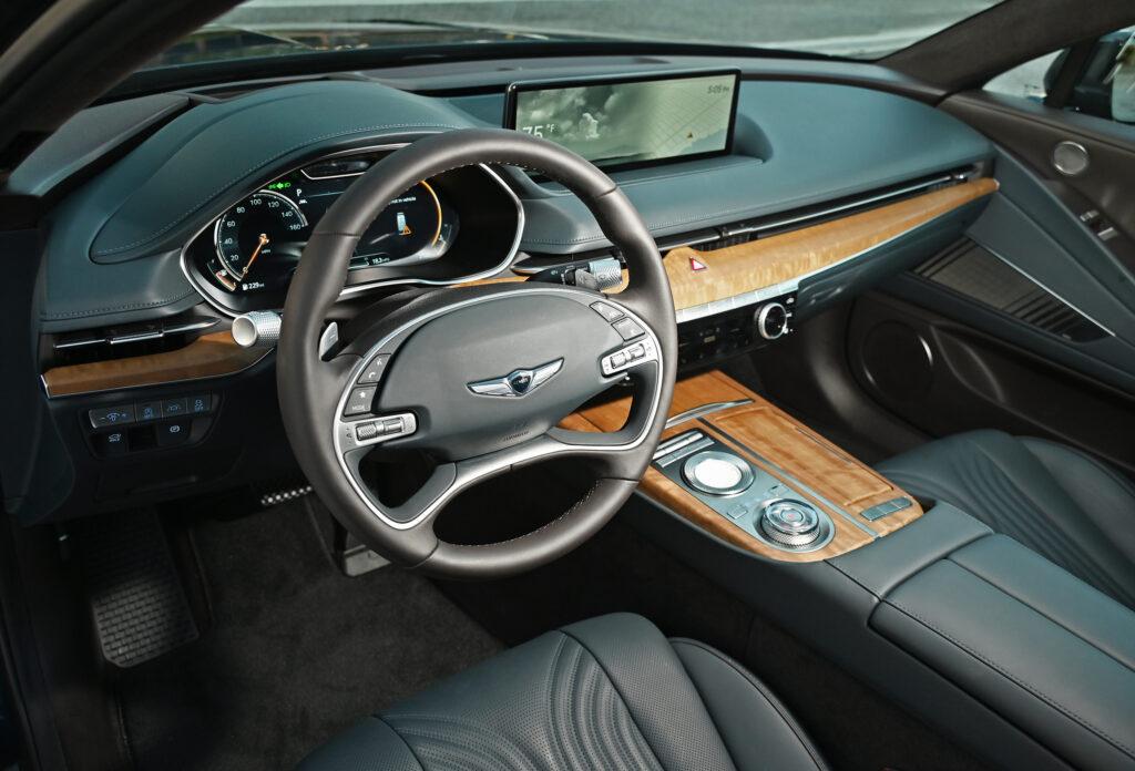 G80 drivers seat