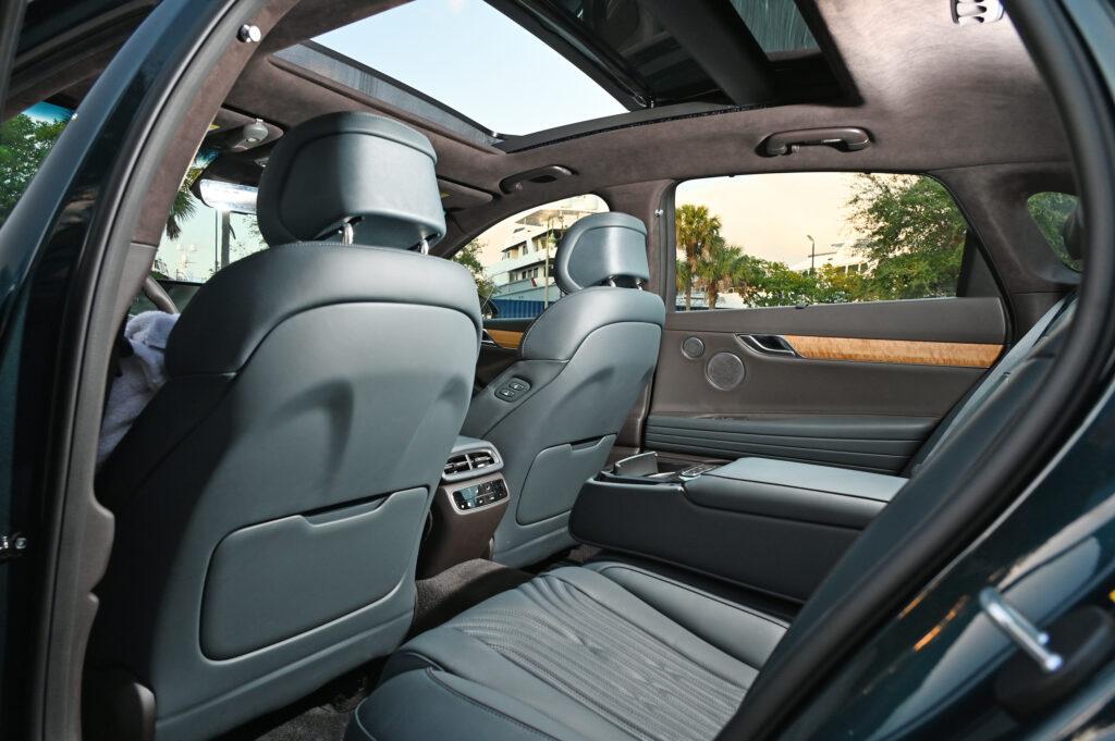 Genesis Rear seat