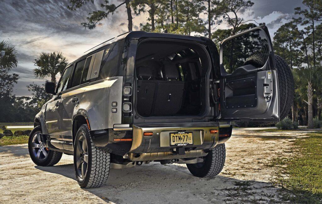 Open Rear Land Rover
