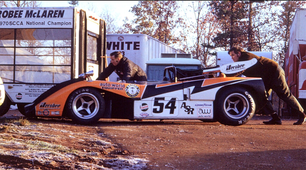 McLaren trailer