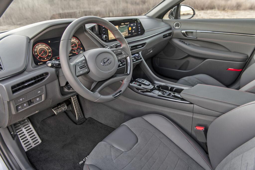 Hyundai N Line Sonata Interior