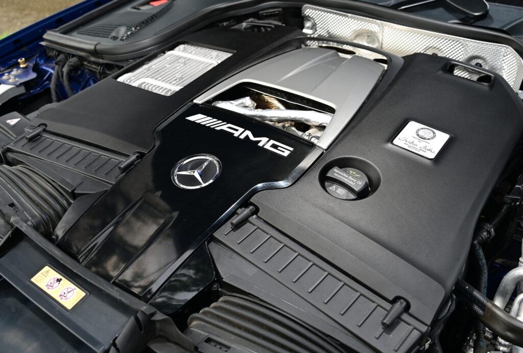 E63 S Engine