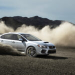 WRX in the dirt.