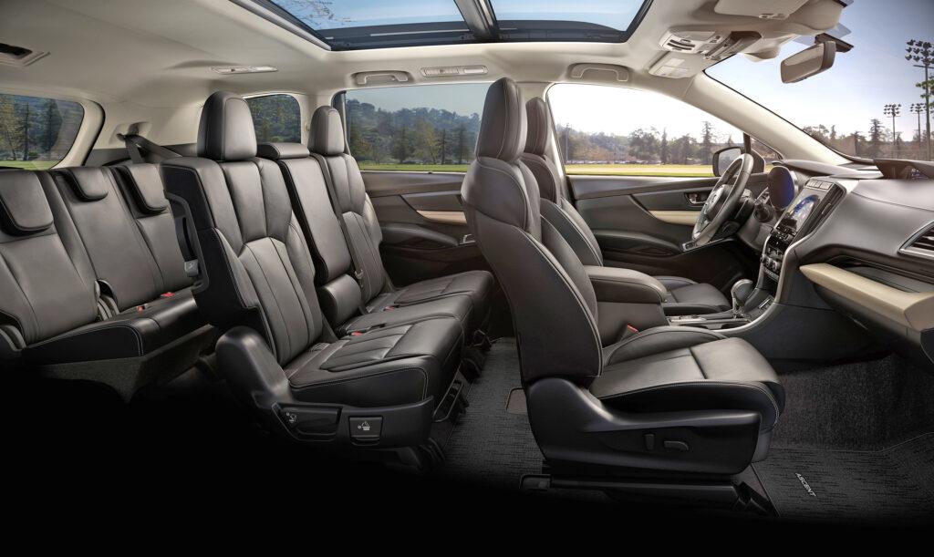 New Subaru ascent interior