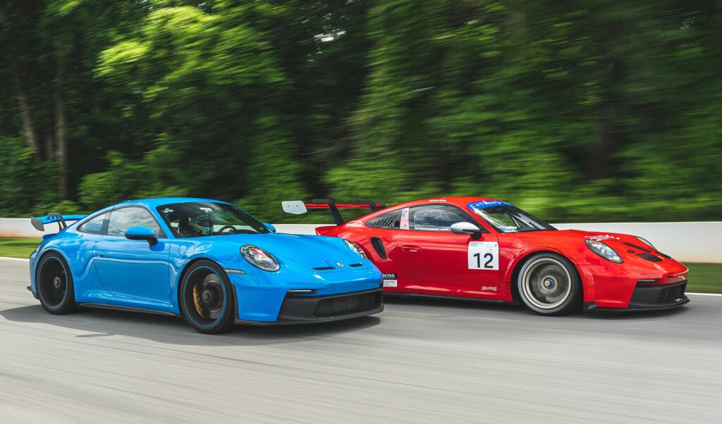 Porsche 911 GT3 Street track
