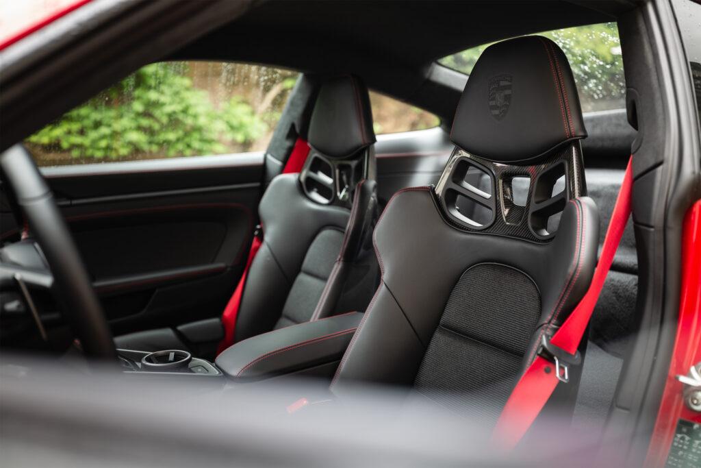 GT3 sport seats